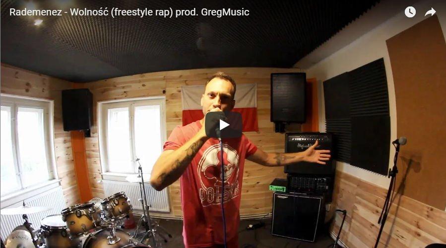Rademenez - Wolność (freestyle rap) prod. GregMusic