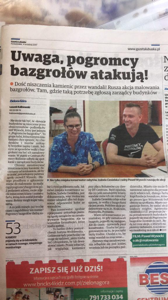 Pogromcy Bazgrołów Gazeta Lubuska