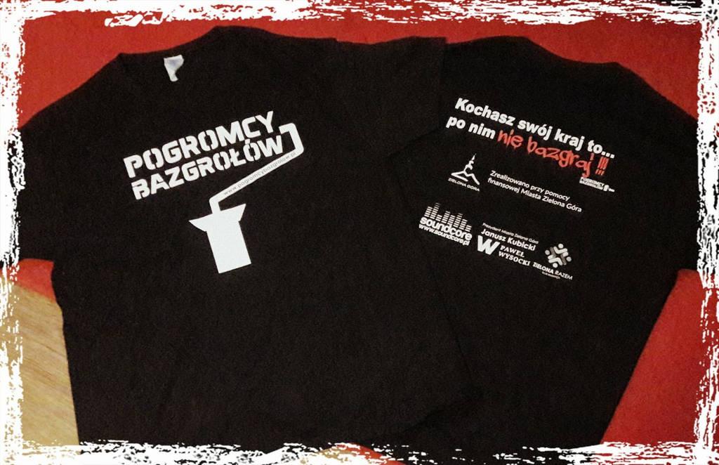 Koszulki Pogromcy Bazgrołów