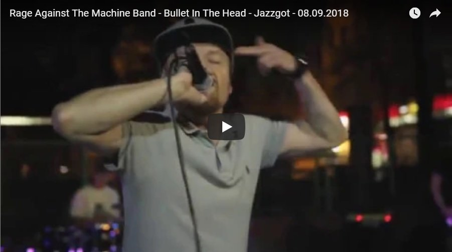 RATM - Bullet In The Head w Jazzgocie