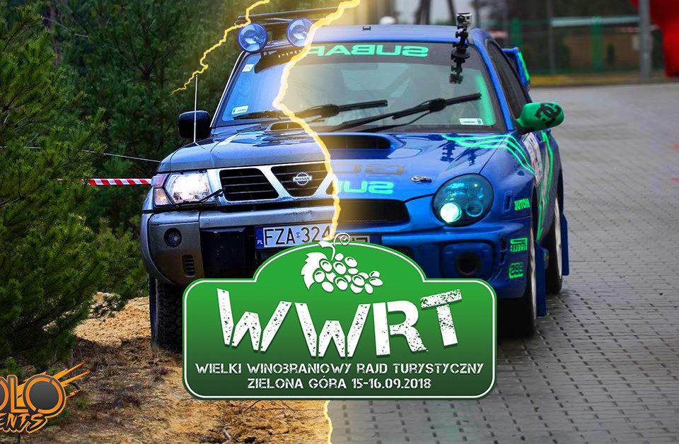 Współorganizujemy WWRT - Wielki Winobraniowy Rajd Turystyczny